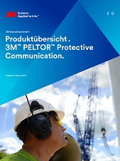 Produktübersicht Peltor Protective Communication