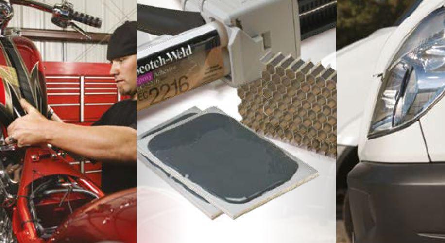 Produktleitfaden im Bereich 3M Konstruktionsklebstoffe
